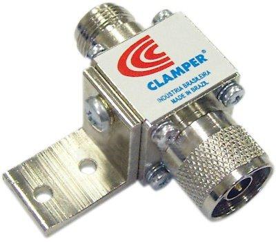 Protetor DPS Clamper 812.X.050/N FM-MC - para cabo Antena Coaxial