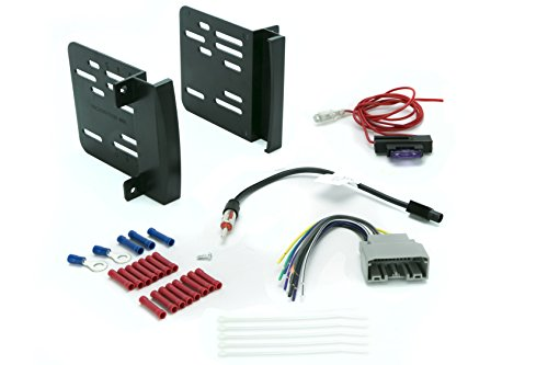 (Install Centric ICCR6BN Chrysler/Dodge/Jeep 2007-14 Double Din Complete Installation Kit )
