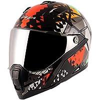 Vega Storm Atomic Black Orange Helmet-L