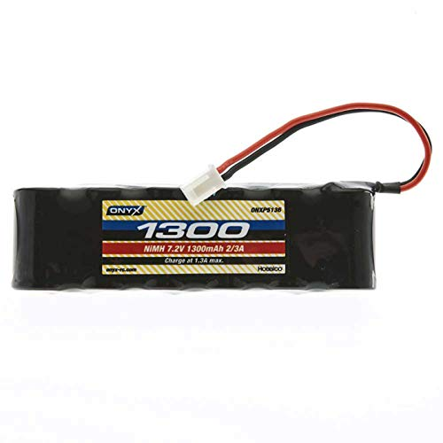 Onyx 7.2V 1300mAh 2/3A NiMH Flat: Mini Plug, ONXP5137