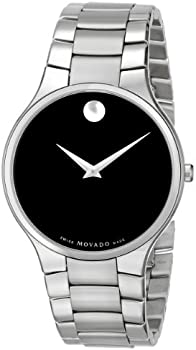 Movado 0606382 Serio Men's Stainless Steel Bracelet Watch