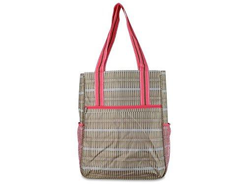 khaki-rattan-tennis-shoulder-bag