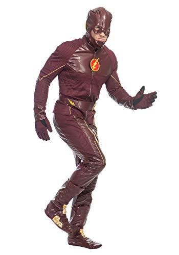Mens Premium The Flash Costume - L -