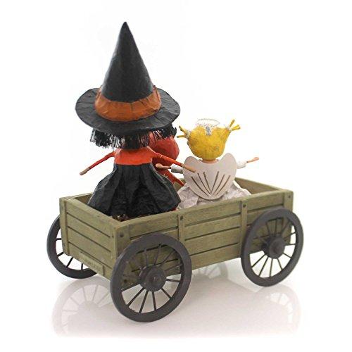 Lori Mitchell HAUNTED HAYRIDE Polyresin Halloween Hay 11049