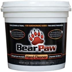 Bear Paw Hand Cleaner, 40oz Tub (1)