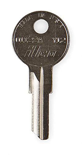 Key Blank, Brass, Yale Lock, PK10- Pack of 5