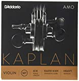 D\'Addario Kaplan Amo Violin String Set, 4/4 Scale, Heavy Tension