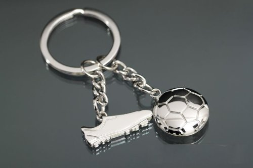 HityTech Football Boot Soccer Shoe Keychain Olympic Games Key Ring Sports Gift