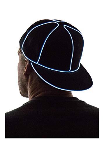 NEON NIGHTLIFE Light Up Snapback Hat Boys & Girls LED Baseball Accessory, White