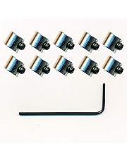 10 edele veiligheidssluitingen (mini) Pin Saver voor metalen button pin pin