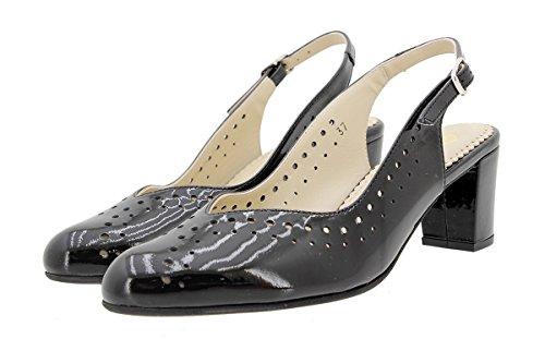 Piesanto Confort Charol Zapato 180230 Negro Salón wqtp16q
