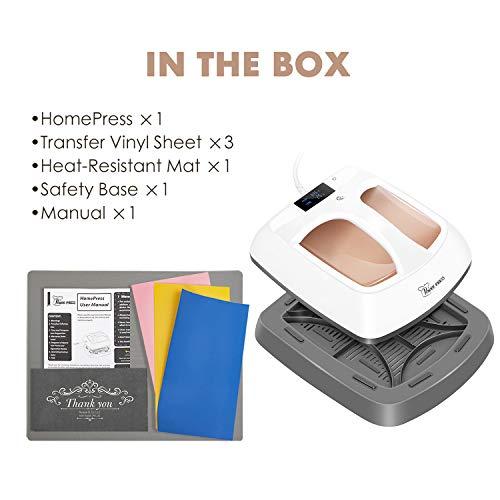 """PowerPress HPM-0000-GD Heat Press Machine Portable-Gold, 12""""x10"""", Golden"""