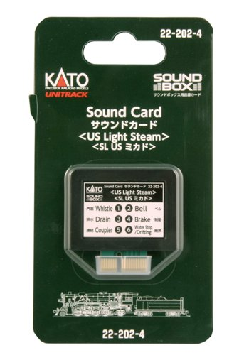 Kato KAT222024 Sound Card, US Light Steam (Kato Radio)
