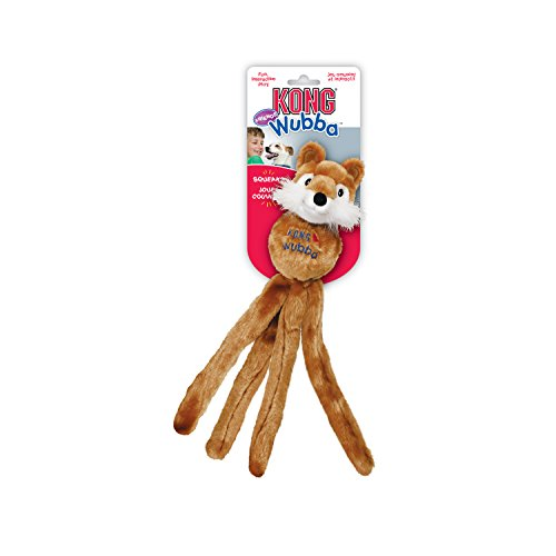 KONG Wubba Friend Dog Toy, Large, Assorted - 16in Dog Toy