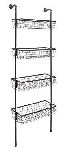 IMAX 65324 Truman Four Basket Shelf