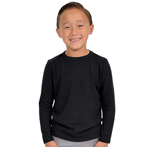 discount Stretch is Comfort Boy's Thermal Long Sleeve Shirt supplies