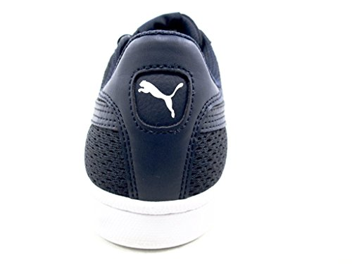 Puma Mens Smash Knit Fashion Sneakers Navy