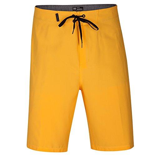 "Hurley 890791 Men's Phantom One & Only 20"" Board Shorts, Laser Orange - 28"