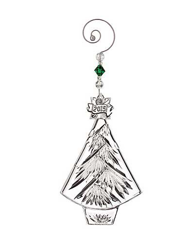 Crystal Ornament Annual Waterford (Waterford Crystal 2015 Annual Christmas Tree Ornament)