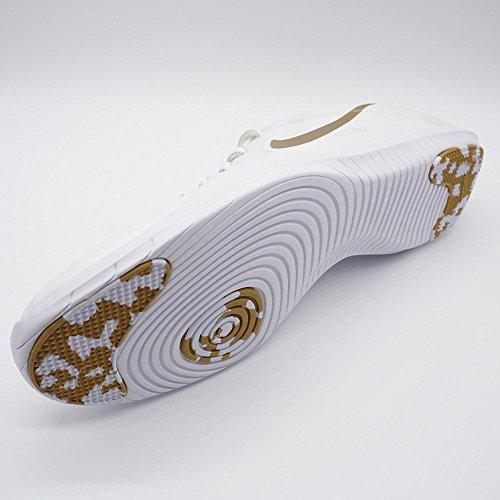 2 mtlc Wmns Pltnm Nike Blanco Studio Damen Mtllc White Cassé Tennisschuhe pr Blanc Trainer Gld HRxpIqw