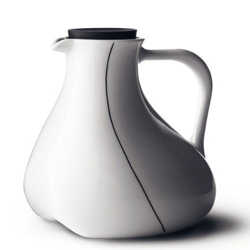 MENU of Scandinavia Black Contour Pitcher by Menu