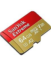سانديسك بطاقات مايكرو اس دي ، سعة 64 جيجابايت