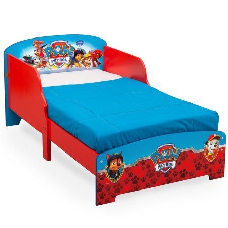 Paw Patrol Wooden Toddler Bed (mattress not included)
