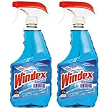Windex Cleaners, Blue, 32 fl. oz. 2 Count