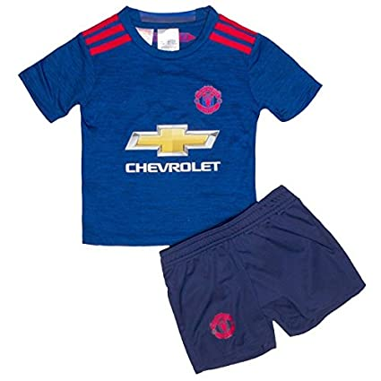 a531d72621b Manchester United Soccer Jersey Set for Boys - T Shirt and Shorts for Kids    Youth –Boys   Girls. Replica of original Team Jersey of European Football  Club ...
