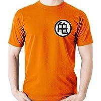 Camiseta Uniforme Goku - Mestre Kame - Dragon Ball Z Super Geek Camisa Blusa