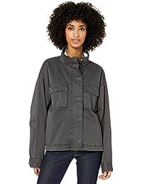 Amazon Brand - Goodthreads Women's Cropped Oversized Utility Jacket