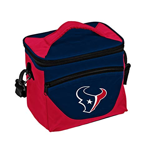 Logo Brands NFL Houston Texans Halftime Lunch Cooler, One Size, Navy