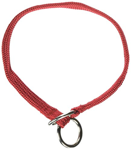 Dog Choke Nylon Collar Show (Resco American-Made Braided Choke Collar for Dogs, 14