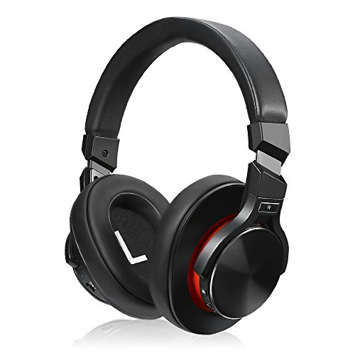 Active Stereo Bluetooth - Active Noise Cancelling Bluetooth Headphones,Wireless Over Ear Headphones with Microphone apt-X HiFi Stereo Sound Headphones for TV, Airplane, 25 Hours Playback