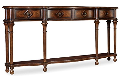 Hooker Furniture 963-85-122 72 Hall Console, Medium Wood