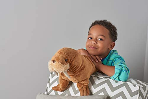 Wild Republic peluche tricheco, Cuddlekins mini coccolone peluche, regali per bambini 20 cm