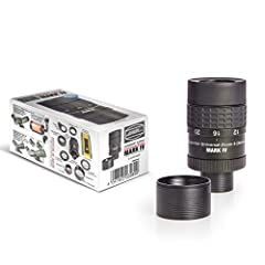 "What's new in the model ""Universal Zoom Mark IV""? Even Bestsellers can be improved: The fourth generation of this eyepiece weighs 290 g (10.2oz). It now has 55 mm diameter to become useful in dual mode from 55 mm interpupillary distance. Both..."