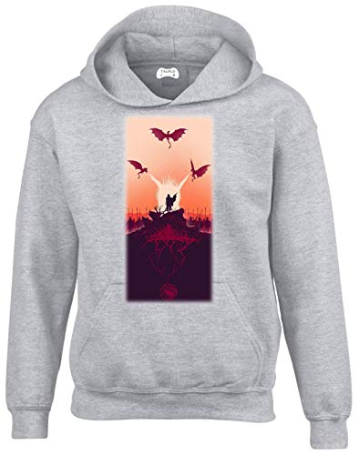 Grey Game Of Thrones 50030 Hoodie Taurus Clothing ng8W7qw50Y