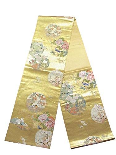 日記本当のことを言うとどこリサイクル 袋帯 秀麗花丸文 正絹 六通