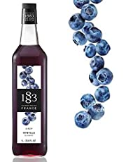 Xarope 1883 De Blueberry 1Litro