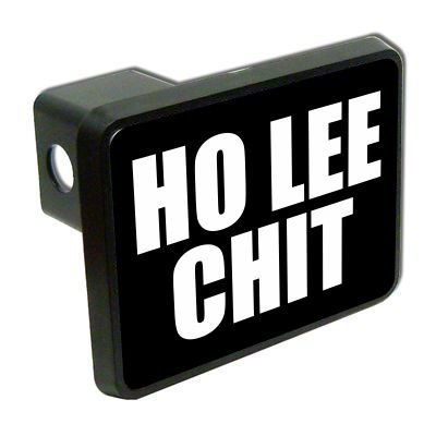 Slap-Art Ho Lee Chit funny 2 Tow Trailer Hitch Cover Plug Truck Pickup RV military army soldier