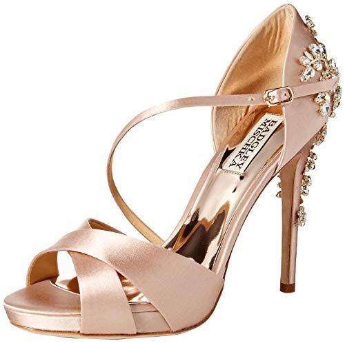 Badgley Mischka Women's Fame Pump Soft Blush 6.5 M US (Best Designer Wedding Shoes)