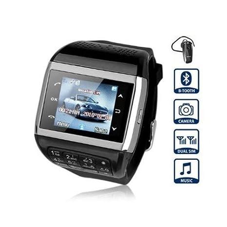 FLY-Shop-Smartwatch Negro Q8 reloj teléfono movil con pantalla ...