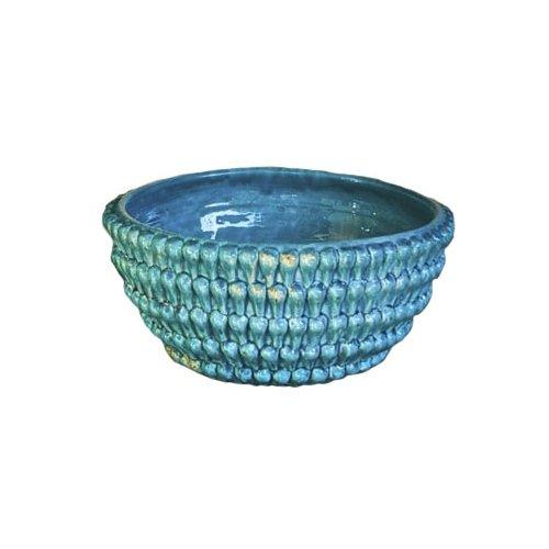 - Abigails Vinci Turquoise Centerpiece Bowl
