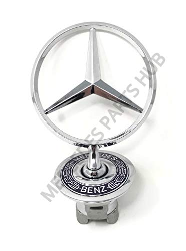 Mercedes Badge - Mercedes-Benz Hood Star Emblem Badge Genuine OE 1400286