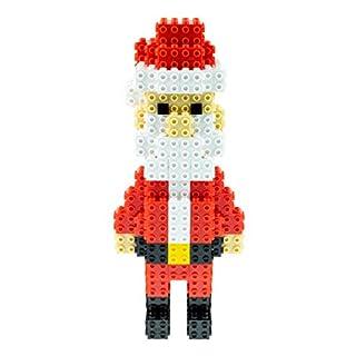 Strictly Briks Building Bricks and Blocks Set | 3D Briks Santa | 100% Compatible with All Major Brick Brands | 120 Pieces