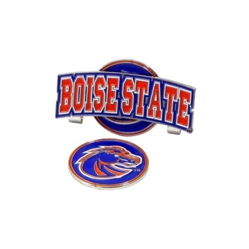 Boise State Broncos Slider Hat Clip W/ Golf Ball Marker - NCAA College Athletics