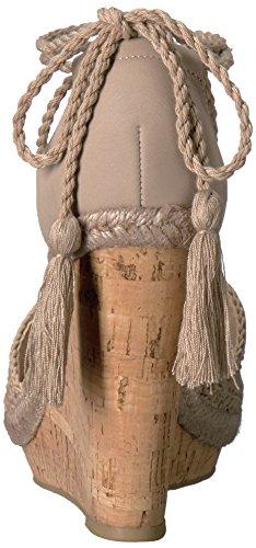 Wade Women's Natural Moda Pelle Nu Wedge Sandal 8EwzvEq5U