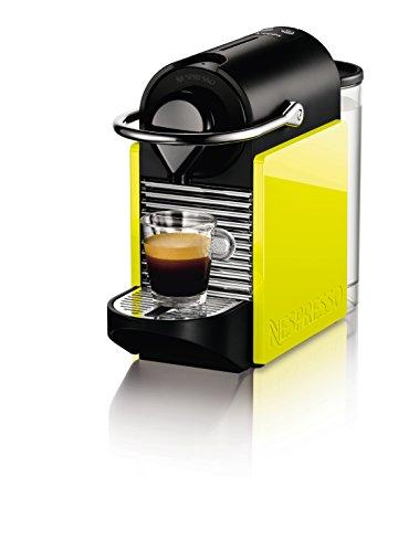 Krups Nespresso - Cafetera de cápsulas, automática, 1260 W, 0.8 L, negro/amarillo: Amazon.es: Hogar