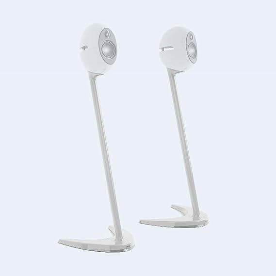 Edifier Ss01c Wht Speaker Stand Voor E25 Luna Eclipse White Incl 6m Kabel Tussen De Satellieten En 1 7m 3 5mm Audiokabel Ss01c Wht Audio Hifi